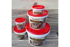Масло льняное с воском тм Oak House для пропитки и защиты деревяных изделий, цвет Сосна