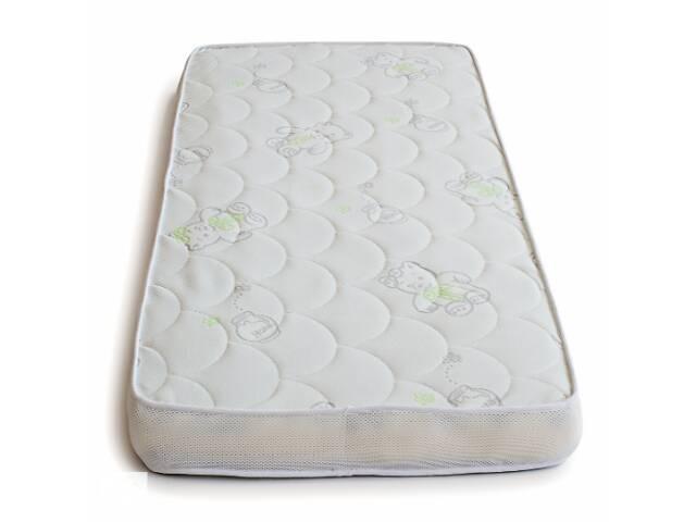 купить бу Матрас в кроватку для новорожденного кокосовый Twins Moonlight, 120 x 60 x 10 см, белый в Киеве
