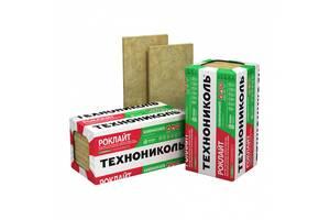 Мінеральна вата Техноніколь Роклайт 30 кг/м.куб Упаковка 1200х600х100мм 4 лист 2,88 м.кв