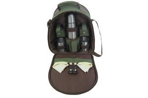 Набор для пикника Ranger Compact HB2-350 2225 RA 9908 Зеленый с коричневым