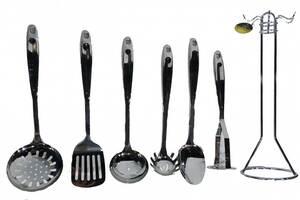 Набор кухонный на стойке Edenberg Eb-584 из 7 предметов набор кухонных принадлежностей