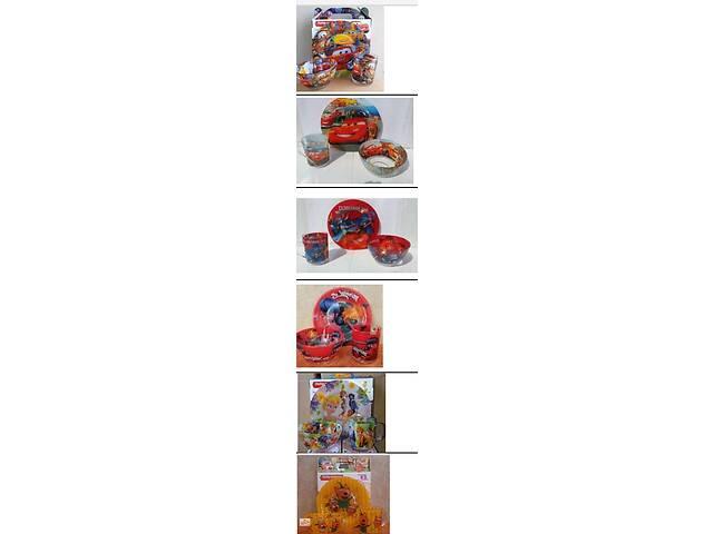 бу Наборы детской посуды с мультфильмами. в Одессе