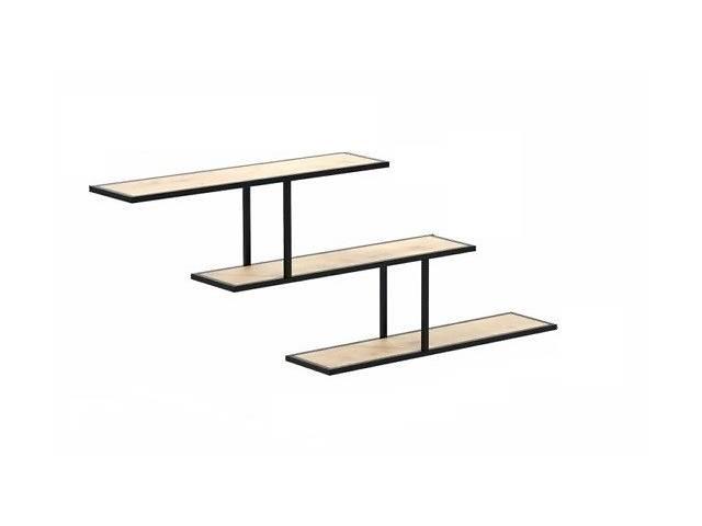 Навесная - Настенная Полка в стиле LOFT  (Wall Shelf - 05)