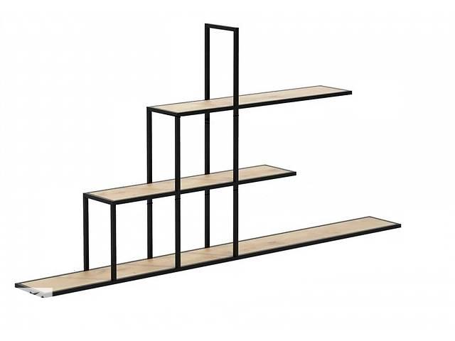 Навесная - Настенная Полка в стиле LOFT  (Wall Shelf - 06)