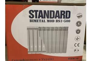 Новый польский биметаллический радиатор Standard BS1 500/96