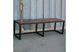 Обеденная скамейка в стиле LOFT (NS-970002070), вис-450мм, шир-380мм, довж-1400мм,