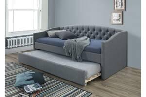 Односпальная кровать Alessia 90X200 Серый