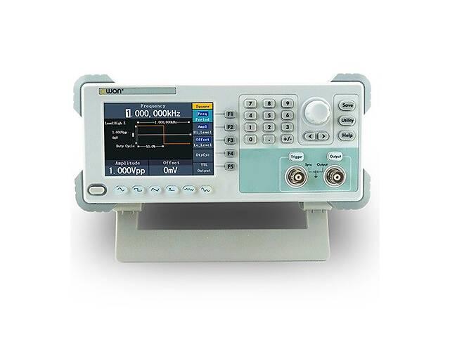 купить бу OWON AG051 генератор сигналов произвольной формы, 5 МГц, выборка 125 МВ/с, память: 8 тыс. точек в Дубно