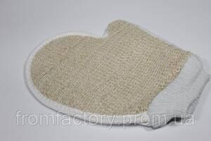 Мочалка-перчатка банная (кактусовая)
