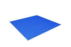 Подстилка для круглых и прямоугольных бассейнов Bestway 58002 тарпаулин 396х396 см Синяя (bint_58002)