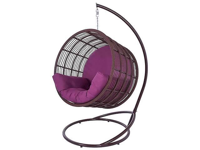 Подвесное садовое кресло качели кокон капля шар плетеное из ротанга Украинские Конструкции Престиж / Prestige- объявление о продаже  в Киеве