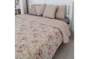 Покрывало Прованс Bella розы, витраж 240х220 см