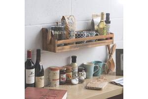 Полка для кухни.Кухонная полка.Оригинальная .Мебель для ванной.