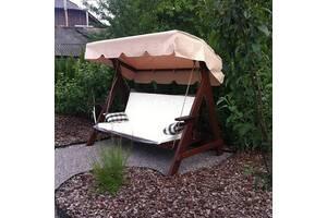 Продам качель садовую , длина 1,8 м, сидение изготовлено из массива Дуба. Возможна доставка по Украине