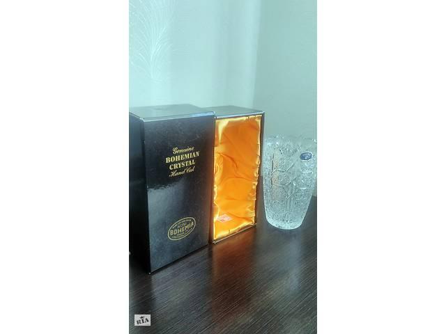 Продам НОВУЮ Хрустальную вазу Bohemia Crystal- объявление о продаже  в Ужгороде