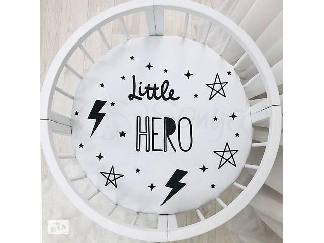 купить бу Простынь детская с печатью Little hero в Киеве