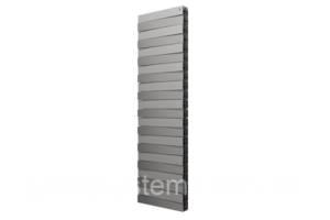 Радиатор Royal Thermo PianoForte Tower/Silver Satin - 22 секц.