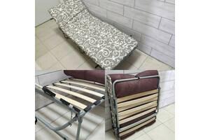 Раскладушка-кровать с матрасом НОВА