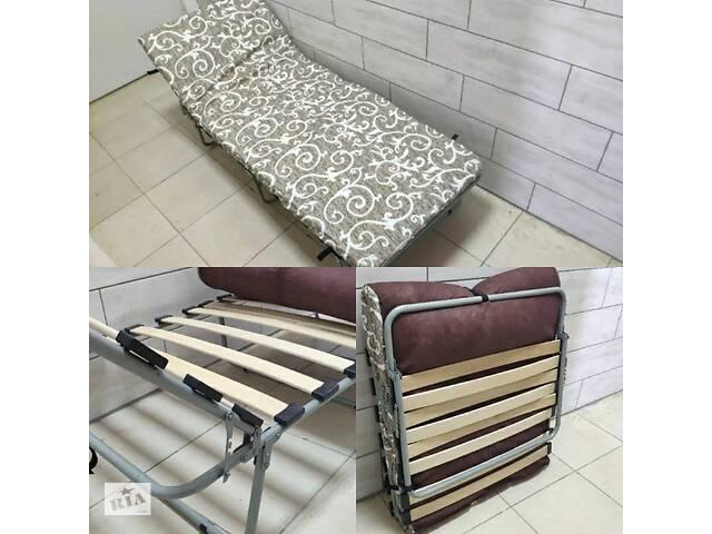 продам Раскладушка-кровать с матрасом НОВА бу в Днепре (Днепропетровск)