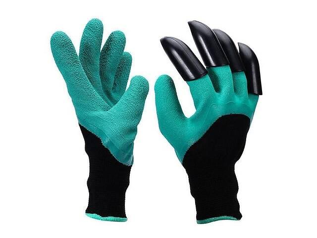 купить бу Садовые перчатки с когтями Garden Gloves в Киеве
