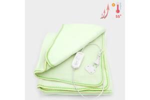 Согревающая электрическая простынь Warm Blanket электро грелка электропростынь покрывало 150*120 см 80 Вт