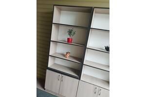 Стілажі, офісні  шафи, книжкові  полиці