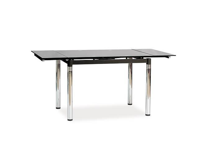 купить бу Стол обеденный Signal Мебель GD-018 110(170) х 74 см Черный (GD018C) в Киеве