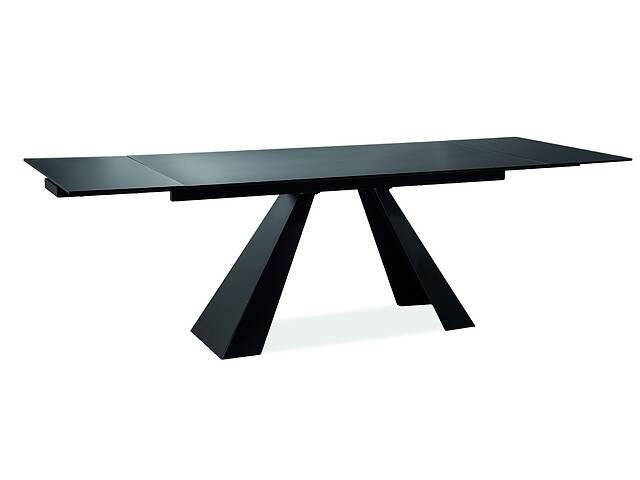 Стол обеденный Signal Мебель Salvadore 160(240) х 90 см Черный (SALVADOREC160)- объявление о продаже  в Киеве