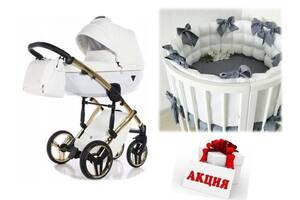 СУПЕР СКИДКА! Набор для новорожденного  Коляска Tako \ Junama +  Овальная \ круглая кроватка