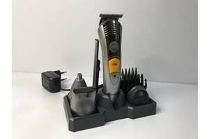 Универсальный мужской триммер для бороды усов носа и тела 7в1 Geemy 580A машинка для стрижки