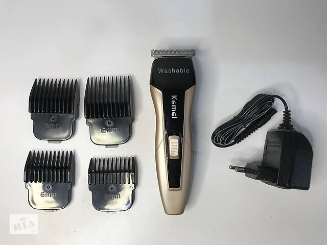 продам Триммер для стрижки бороды Kemei 5015 бу в Харькове