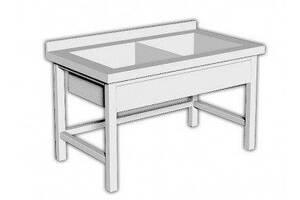 Ванна моечная ВШ-2 AISI 304 Стандарт 300 (Эфес 700/1000)