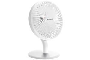 Вентилятор настільний акумуляторний BASEUS Ocean Fan CXSEA-02 4 режими швидкості Білий (gr_014908)