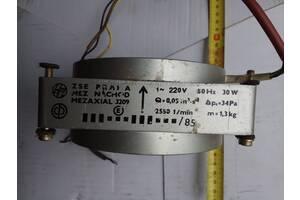 Вентилятор вытяжной mezaxial 3209 , 2550об/хв, 30W, 220V