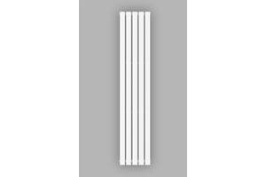 Вертикальний радіатор опалення білий Genesis Aqua