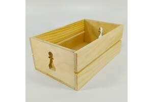 Ящик деревянный с шахматная пешка Мастерская мистера Томаса 15х17х9.5см дерево