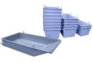 Ящик / ящики / тара / емкость для раствора и бетона  БН от 0,2 м3