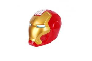 Іграшка скарбничка сейф з кодовим замком і купюропріємником Kid safe для паперових грошей і монет Залізна людина Iron Man