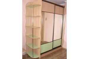 Изготовление шкафа купе на заказ в спальню и гостиную. Зеркальные раздвижные двери. Мебель под заказ в Одессе