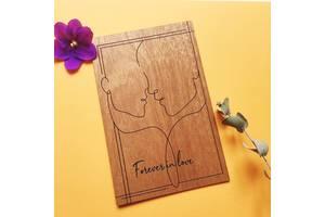 Авторские свадебные приглашения из дерева