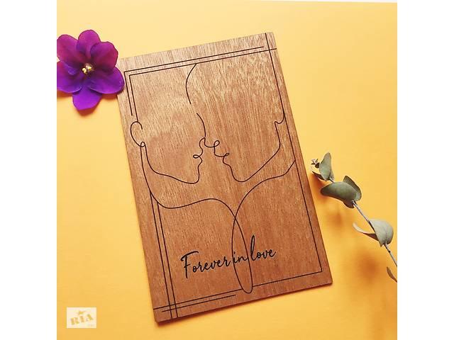 купить бу Авторские свадебные приглашения из дерева  в Украине