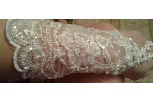 Перчатки свадебные новые