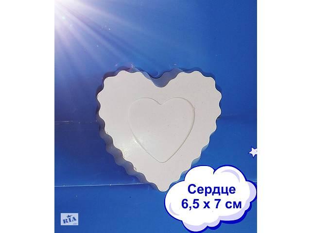 продам Сердце гипсовое для раскраски бу в Киеве