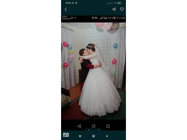 Терміново продам весільну сукню відповідальним людям- объявление о продаже  в Чугуєві
