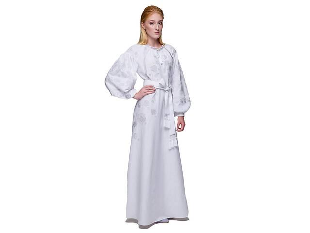 купить бу Платье вышиванка Громовица белая в Чернигове