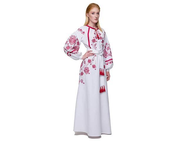 бу Платье вышиванка Громовица бордо в Чернигове