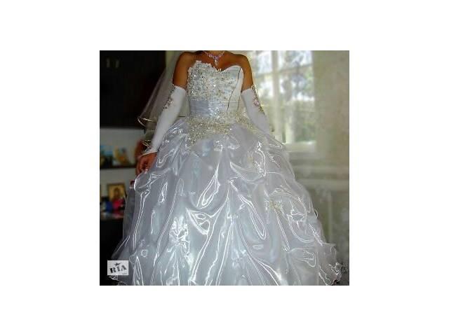продам Свадебное платье  бу в Славянске