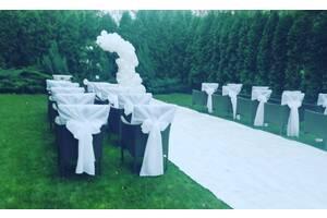Выездная церемония, арка и чехлы