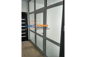 💥 Алюминиевые перегородки для офиса, дома по вашим размерам от производителя | компания АНКО