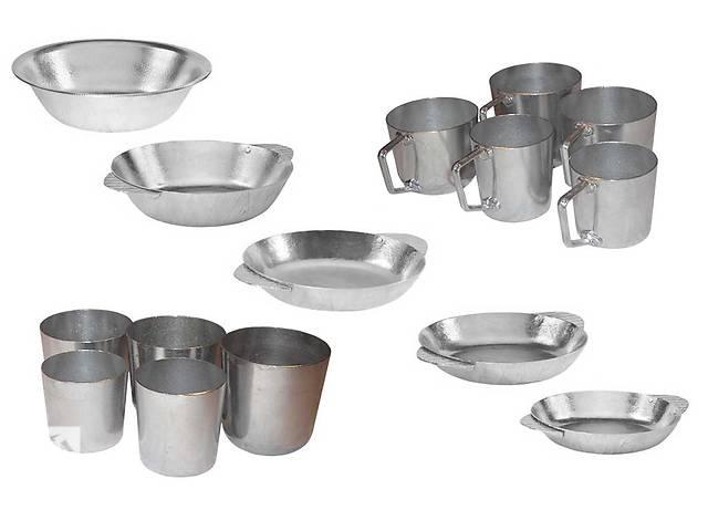 продам Алюминиевые кружки, тарелки и стаканы . бу в Одессе